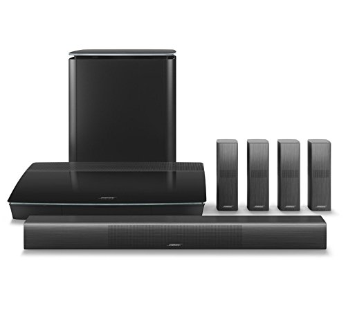 Best price for Bose Lifestyle 650 Home Entertainment System with Wall Brackets (1 OmniJewel Center Channel Bracket & 4 OmniJewel Wall Brackets) – Black