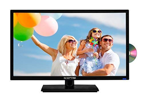 Sceptre E246BD-F 24 1080p 60Hz Class LED HDTV with DVD Player/True 16:9 Aspect Ratio View Your Movies as The Director Intended 1920 x 1080 Full HD Resolution