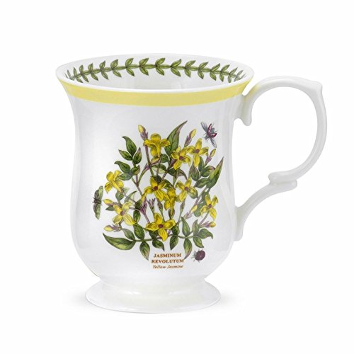 (Portmeirion Botanic Garden Terrace Yellow Border Jasmine Mug Porcelain Fine China)