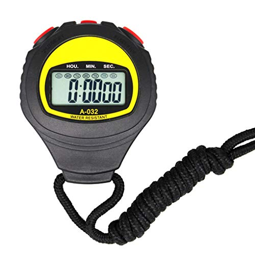 (Miaomiaogo Large Display Electronic Stopwatch Professional Running Timer Sports Referee Coach Chronograph)