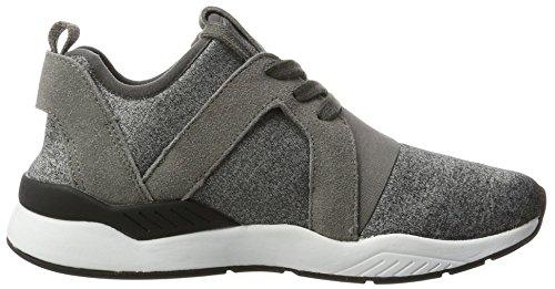 Bugatti Damen 441270606014 Sneaker Grau (multicolour / dark grey)