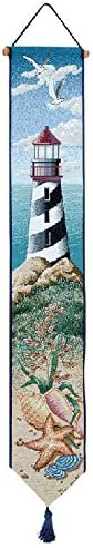 Manual Woodworkers & Weavers Tapestry Bell Pull, Lighthouse View (TBPLHV)