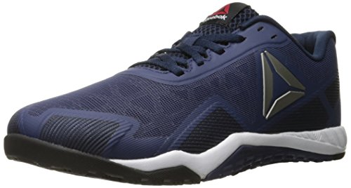 Reebok Men's ROS Workout TR 2-0 Cross-Trainer Shoe, Blue Ink/Collegiate Navy/Pewter, 9.5 M US