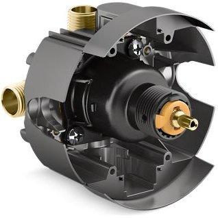 Kohler K-8304-K-NA Universal Rite-Temp PB Valve Kit Pressure-Balancing Body and Cartridge, 6.25 5.25 5.50 ()
