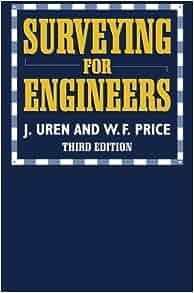 Surveying For Engineers W F Price J Uren 9780333577059 Amazon