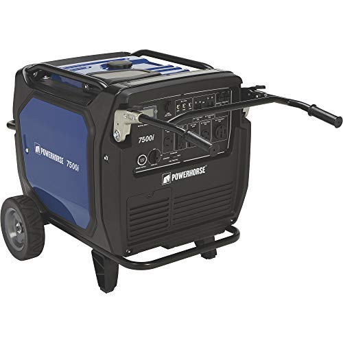 Powerhorse Inverter Generator - 7500 Surge Watts, 6500 Rated Watts