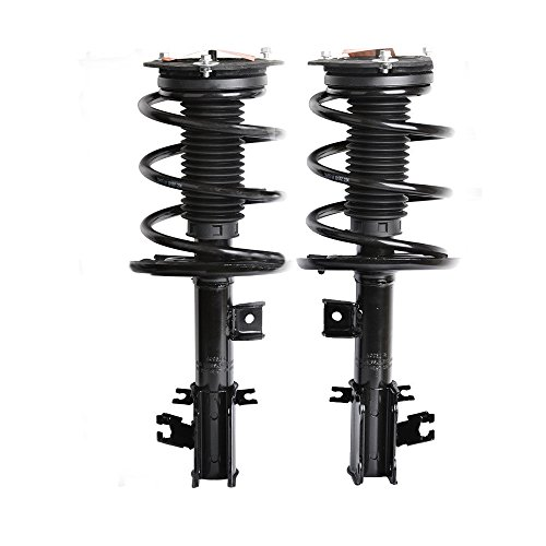 Strut Altima (Pair Front Complete Shock Struts & Coil Spring Assembly for 2007-2012 Nissan Altima 2.5L Exc. Hybrid)