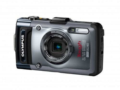 Olympus TG-1iHS 12 MP Waterproof Digital Camera with 4x Optical Zoom by Olympus