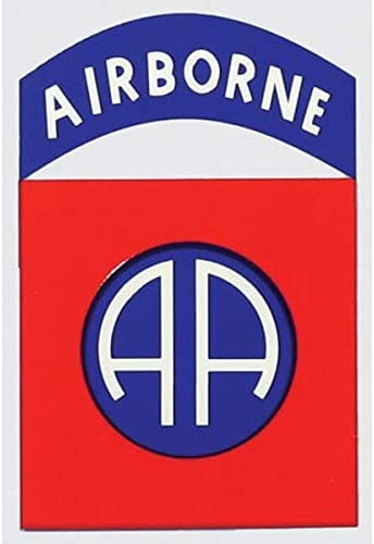 82nd Airborne Division License Plate Frame Bundle with 82nd Airborne Decal