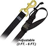 6′ Pet Leash – Large w/ Quick Release Handle – Step 2 Brown Dog Leash, My Pet Supplies