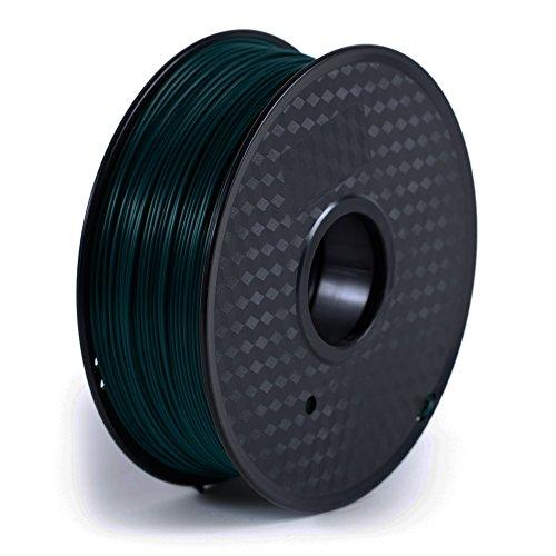 Paramount 3D PLA (PANTONE Leviathan Blue Green 316C) 1.75mm 1kg Filament [TBRL5020316C]