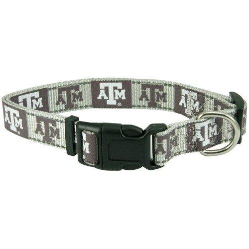 Pet Goods NCAA Texas A & M Aggies Dog Collar, ()