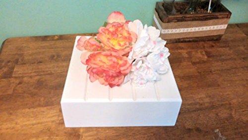 White Cake Stand, Wedding Cake Stand, Custom cake stand, Reclaimed cake stand,Personalized (Custom Reclaimed Wood)