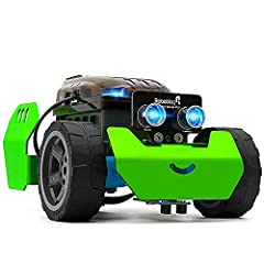 Start to Build a Robot On Your Own Q-Scout is a perfect robotics kit for starters who are interested in STEM learning.  With all parts ready (65pcs), you can construct a robot in less than an hour. This robot is based on Arduino. It supports ...