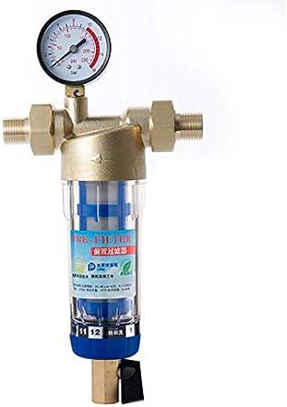purely life sifón de lavado pre-filtro con sistema purificador del limpiador de agua de 40 micras de del agua 1