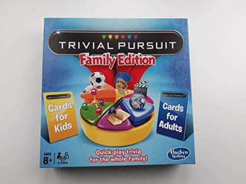 Hasbro Trivial Pursuit Family Edition Juego de Mesa (Idioma ...