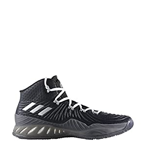 adidas Men's Crazy Explosive 2017 Basketball Shoe Black/Silver/Grey Size 11 M US