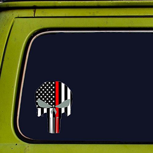 car accessories skull stickers - 6