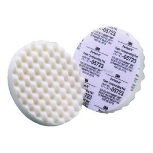 3M 05723 8' Foam Compounding Pad, (Pack of 2)