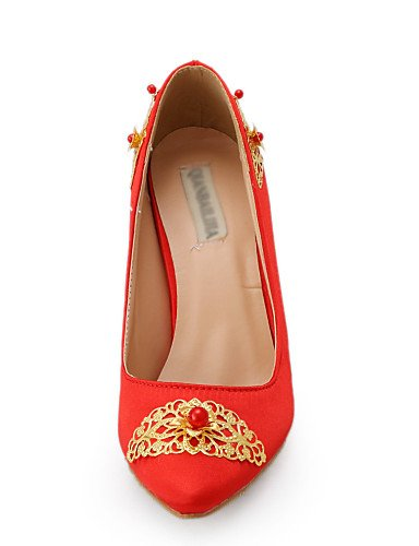 3in homme Uk3 Bout Mariage 3 3 amp; Chaussures Habillé talons Soirée Ggx Eu36 rouge 4in Cn35 5 Evénement mariage us5 Pointu De talons 5 S6vEOnq