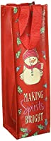 Snowpinions Making Spirits Bright Wine Bag, Set of 2