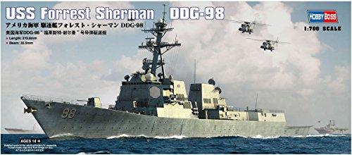 Model Kit Mississippi (Hobby Boss USS Forrest Sherman DDG-98 Model Kit)