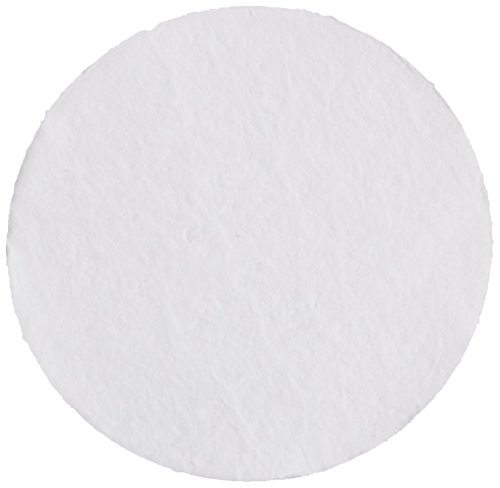 Whatman 10421043 Glass Microfiber Filter with Inorganic Binder, 27 s/100mL Flow Rate, Grade GF 92, 100mm Diameter (Pack of 100) - Whatman Glass Filter