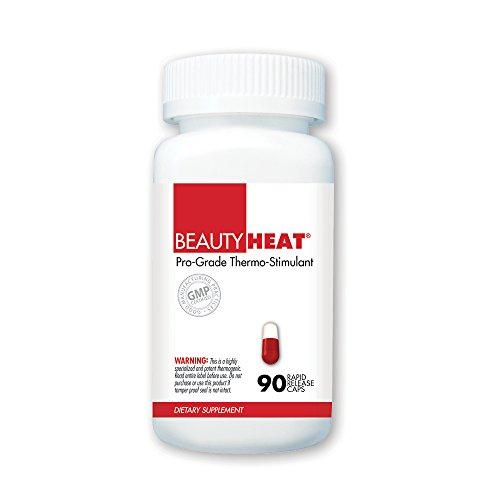 BeautyFit BeautyHeat, Pro-Grade Thermo-Stimulant For Women, 90 Capsules