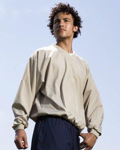 Augusta Sportswear Micro Poly Windshirt, Stone , XXX-Large (Windshirt Stone)