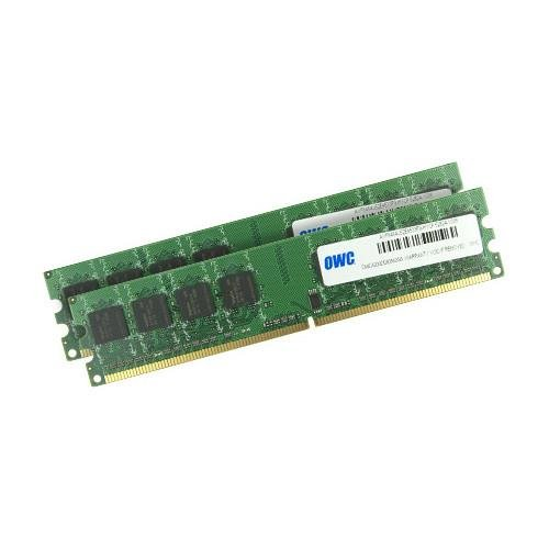 OWC / Other World Computing 4GB (2x 2GB) 533MHz 240-Pin DIMM DDR2 (PC4200) Memory Upgrade Kit for Power Mac G5 (Late 2005) and PC Desktops