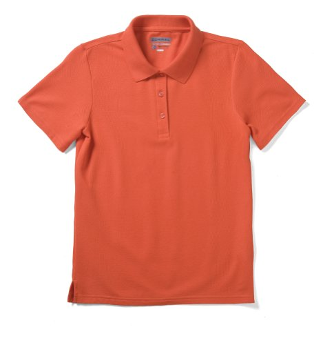 Zorrel Z5500 Dri-Balance Wicking Women's Pique Polo (Orange, 2XLarge)