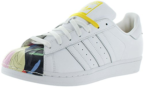 Adidas Superstar Pharrell Supershell S83356 White/White/Yellow