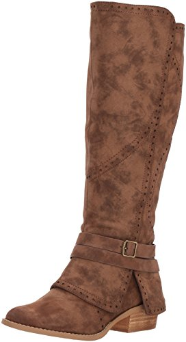 Not Rated Women's Yoko Riding Boot, tan, 8.5 M US
