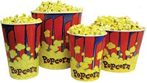 Gourmet Popcorn Tub (Benchmark USA 41446 Popcorn Tubs - 46 Oz)