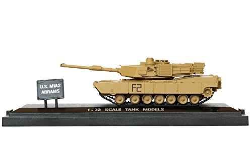 POCO DIVO US M1A2 Abrams Tank Diecast 1/72 Scale Showcase Collection Action Model (M1a2 Abrams Tank)