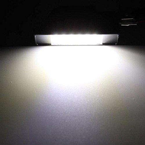 Tuincyn 18smd /éclairage LED de plaque d/'immatriculation universel utilis/é/Super blanc 6000/K assembl/ée Conduite lampe lot de 2