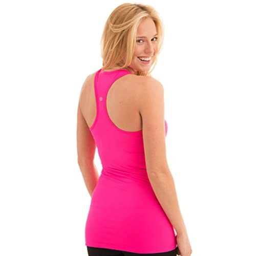b037a54eb814a 60%OFF 90 Degree By Reflex - Power Flex Racerback Tank Top - Rosey Pink