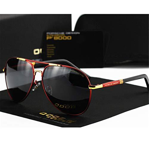 Lente los Que de Cubren Sol de de Sombras Que polarizadas KOMNY Hombres G Sol Brand la Classic Vintage Conduce Wome Las Gafas D Los HD Gafas Aluminio para Hombres SaUqaOZw