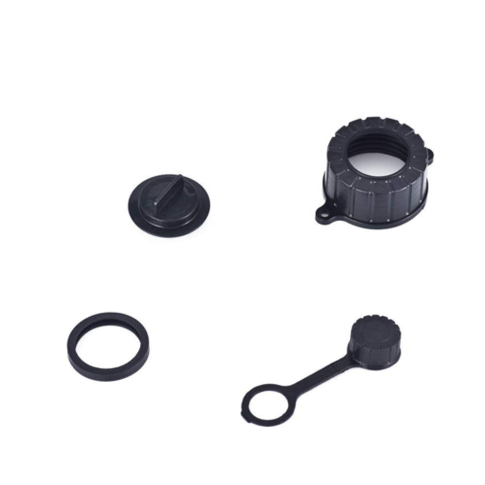Jerry Can Spout Parts-Fuel Container Replacement Spout Parts AC-DK Replacement Gas Can Spout Parts Vent Cap Gasket Stopper Spout Cap 3 Set-Gas Can Spout