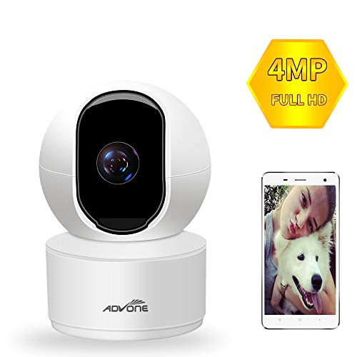 Indoor Security Camera 4MP(2560P) Wireless Pet Camera,ADVONE WiFi Camera Baby Monitor IP Camera with Cloud Storage Night Vision Two Way Audio Remote Viewing