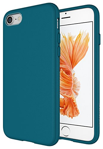 Diztronic Matte Teal Blue iPhone 7 Case/iPhone 8 Case, Full Matte Slim-Fit Flexible TPU Case for Apple iPhone 7 & 8 (Teal Blue)