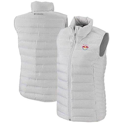 浅い巡礼者システムColumbia Columbia New York Red Bulls Women's White Lake 22 Full-Zip Vest アウターウェア ジャケット/アウター 【並行輸入品】