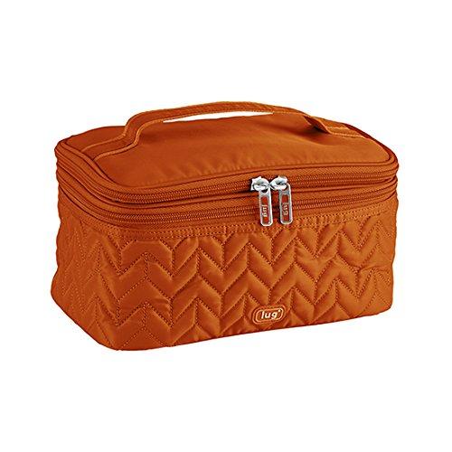 lug-two-step-cosmetic-case-sunset-orange-one-size