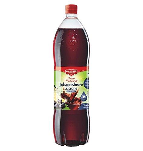 Mautner Markhof grosella jarabe Citro con vitamina C, PET - 1.5L