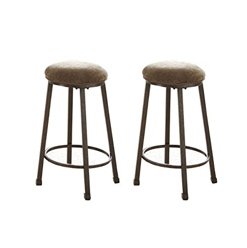 Steve Silver Omaha Counter Height Stool - Set of 2