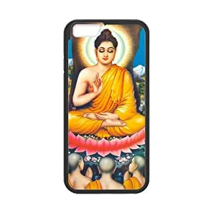 "Super Eastar iPhone 6 4.7"" Cover,Protective Hard TPU Guard Case for Apple iPhone 6,Buddha Color Enlighten O"