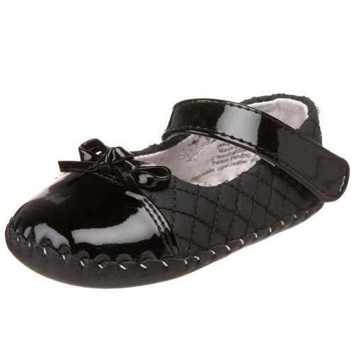 (pediped Originals Naomi Crib Shoe (Infant),Black,Extra Small (0-6 Months))