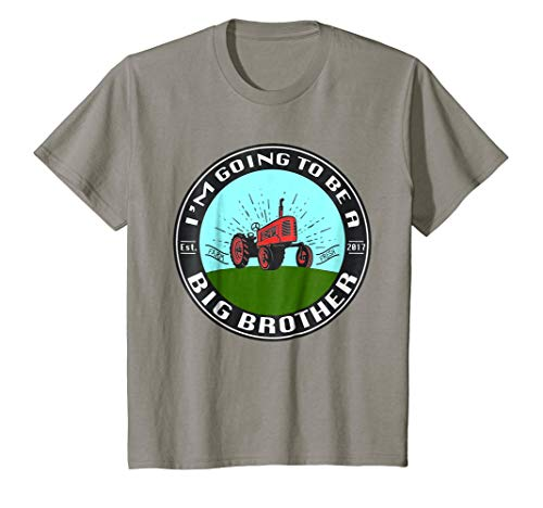 Kids Happy Family Clothing I'm Going To Be a Big Brother T-shirt