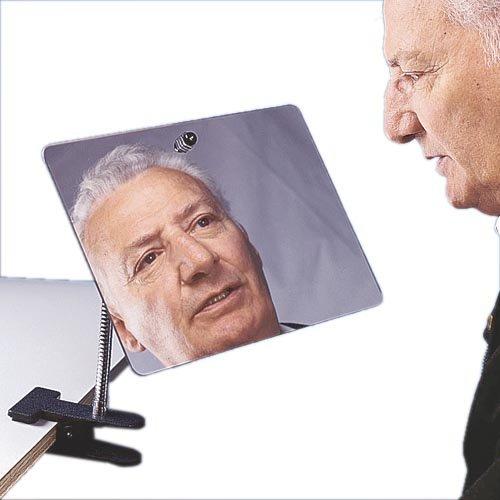 Maddak Clamp On Adjustable Mirror -