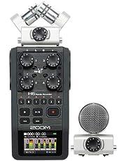 مسجل محمول بنظام مكبر صوت قابل للتبديل من زوم - H6